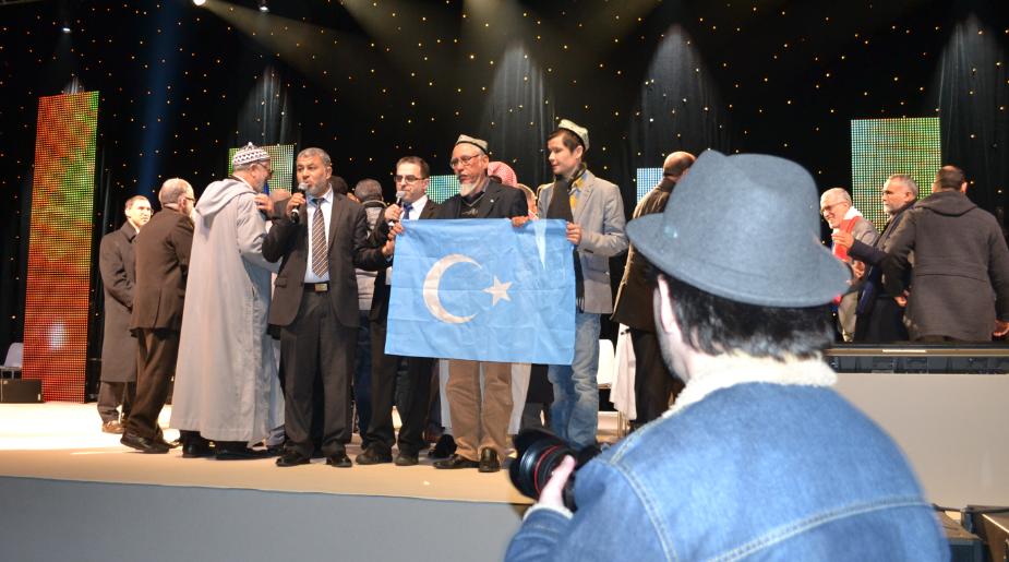 قضية تركستان الشرقية في المؤتمرالإسلامي بفرنسا