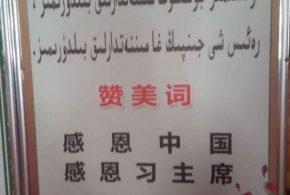 نظام الاحتلال الصينية تقتل مسلمي الايغور وتحارب الاسلام في العلن وتضع قانون يجعل التكبير والتسبيح للرئيس الصيني بدلا عن الله…