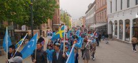 مظاهرة في أوسلو تندد بمعسكرات الاعتقال النازية الصينية