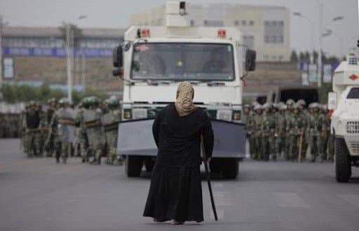 في الذكرى الحادية عشر لمجزرة اورومجى …التي اضحت وصمة عار في جبين نظام الاحتلال الصيني بحق الايغور