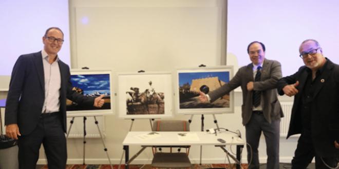 نظمت بلدية اوبسالا معرض ثقافي حول تركستان الشرقية (شينجيانغ)بالتعاون مع سفير نظام الاحتلال الصينى في مملكة السويد
