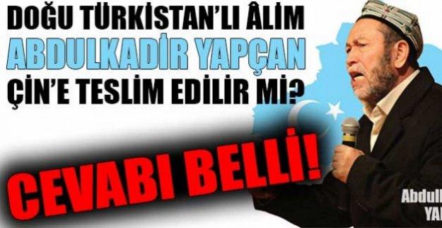 İşgal atında ki Doğu Türkistan lideri Abdülkadir Yapcan'ı suçuszluğu tescillendi…