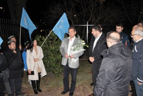 Terör saldırısında hayatını kaybedenler İsveç'te unutulmadı